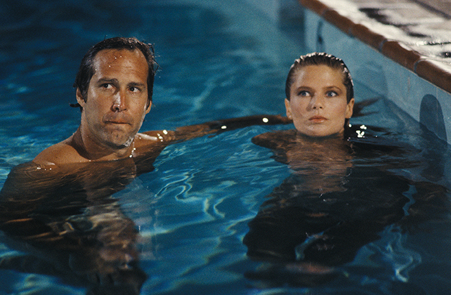 summer means pool time, but don't follow chevy chase's lead and go skinny-dipping with christie brinkley in the motel pool when you're on vacation (national lampoon-style) with your wife and kids.