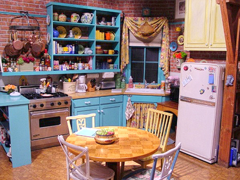Virtual Background - Friends - Kitchen
