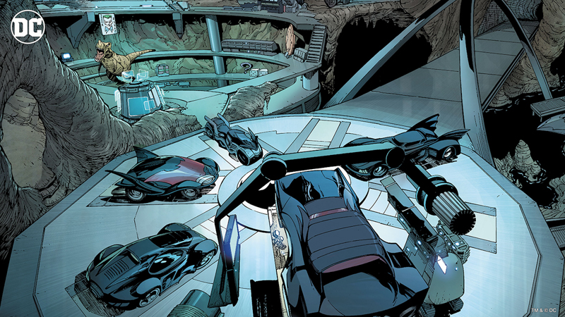 DC: Batcave - Virtual Background - Article