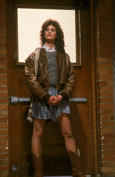 Linda Fiorentino as Carla in vision quest