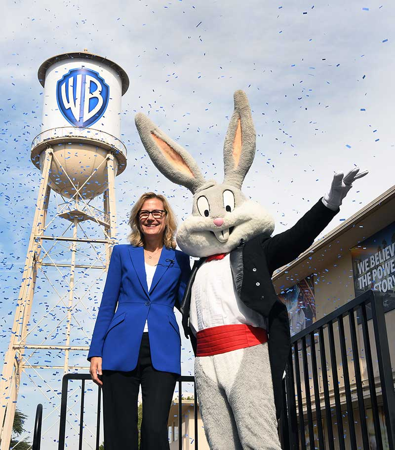 Warner Bros. Water Tower Reveal - Ann Sarnoff