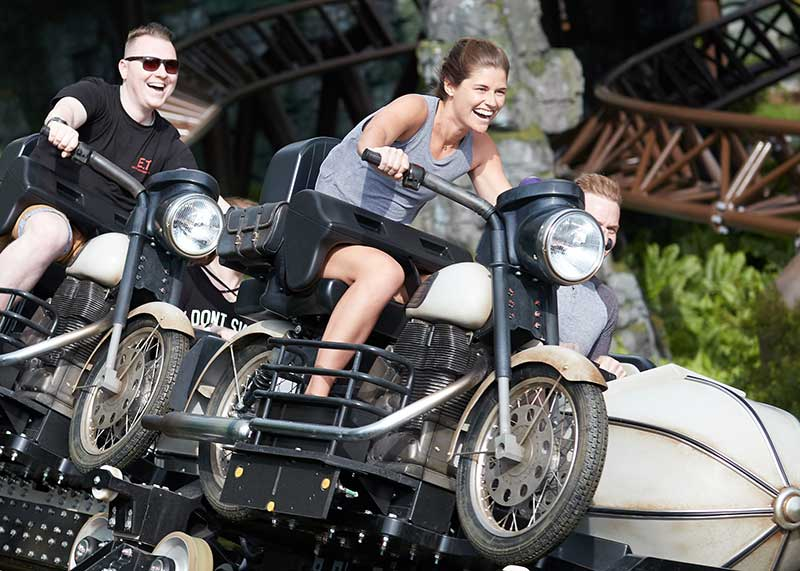WB Tour Experiences - Hagrid's Magical Creatures Motorbike Adventure