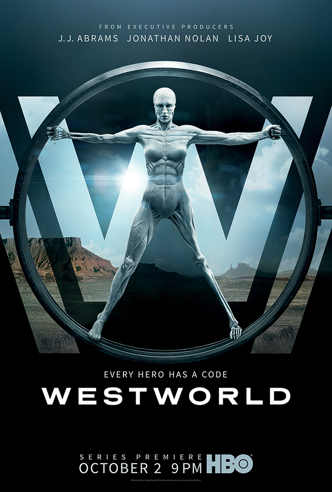 Season 1 poster of Westworld