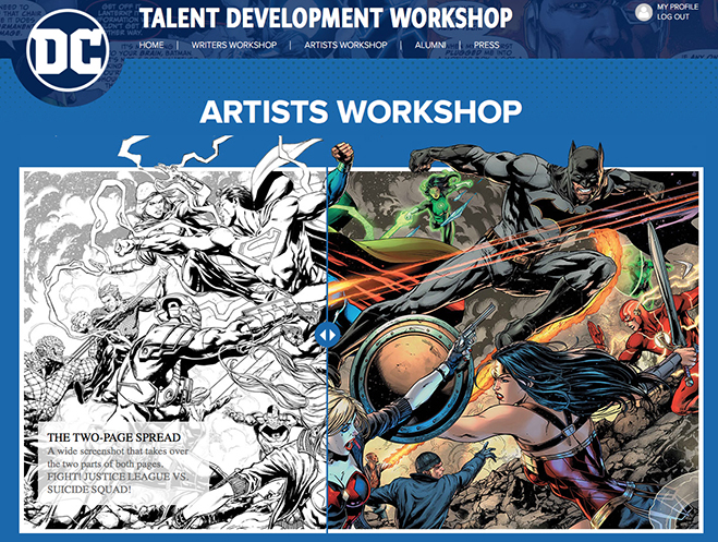 dc artist workshop